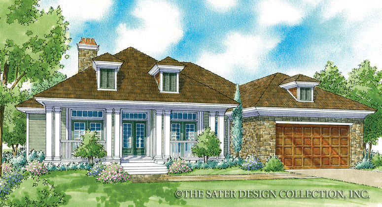 Maywood-Front Elevation-Plan #6776