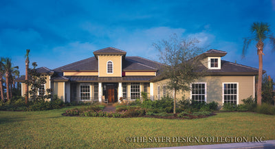 Rosemary Bay-Front Elevation-Plan #6781