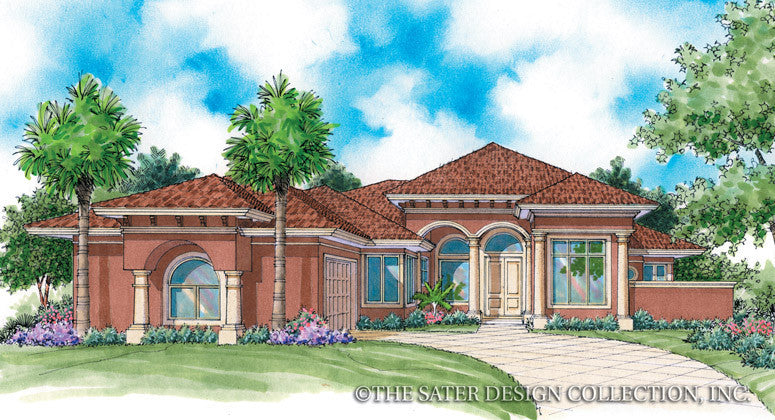 Rosario Home-Front Elevation-Plan #6784