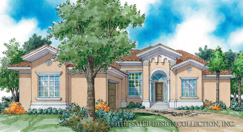 La Posada-Front Elevation Rendering-Plan 6785