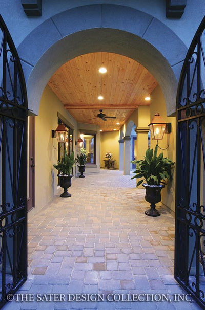 Ferretti-Courtyard Entry-Plan #6786