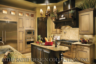 Ferretti-Island Kitchen-Plan #6786