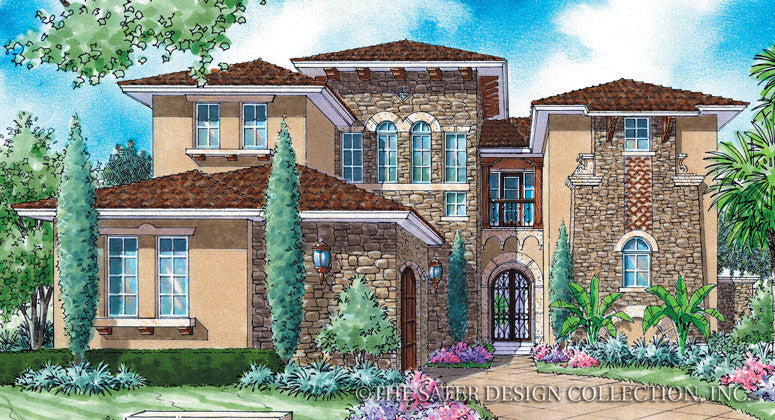 House Plan Salcito   Sater Design Collection