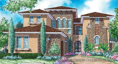 Salcito-Front Elevation-Plan #6787