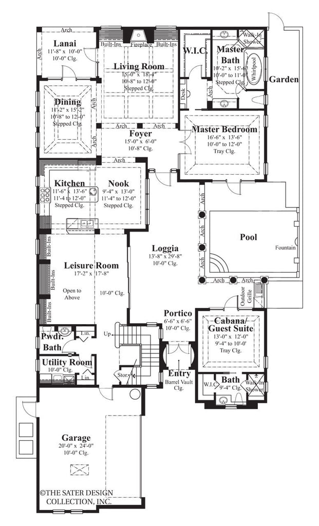House Plan Salcito | Sater Design Collection on southern living home floor plans, eplans home floor plans, webber design home floor plans, santa barbara style home floor plans, self design home floor plans, key west home floor plans, dan sater floor plans, frame home floor plans,