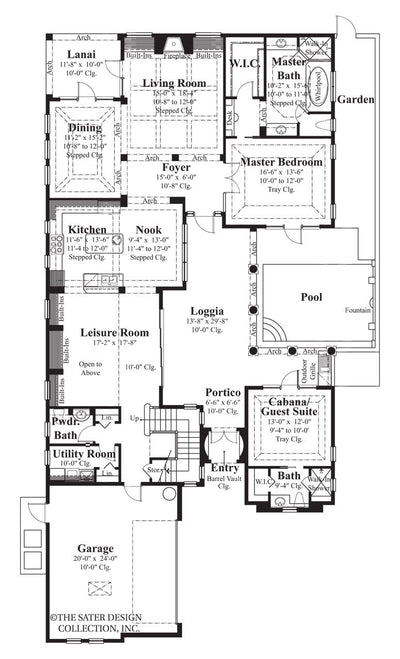 Salcito-Main Level Floor Plan #6787