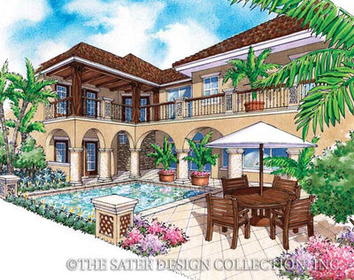 Salcito-Rear Elevation-Plan #6787