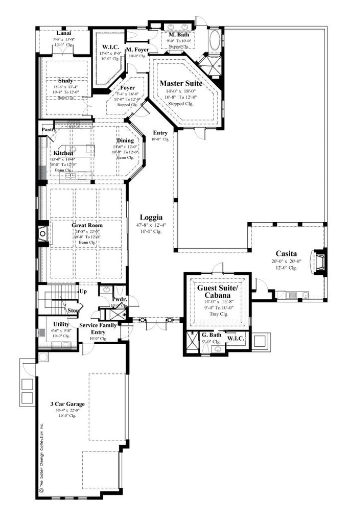 Stepped House Plans House Plans