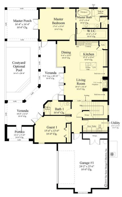 Belvedere first floor plan