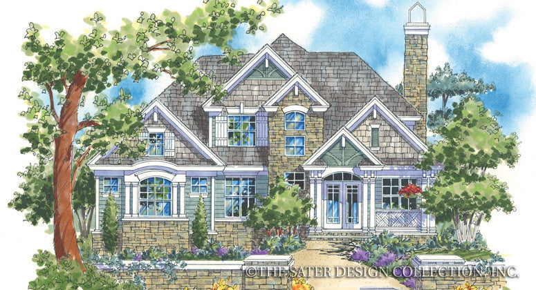 Cascade Ridge-Front Elevation-Plan #6802