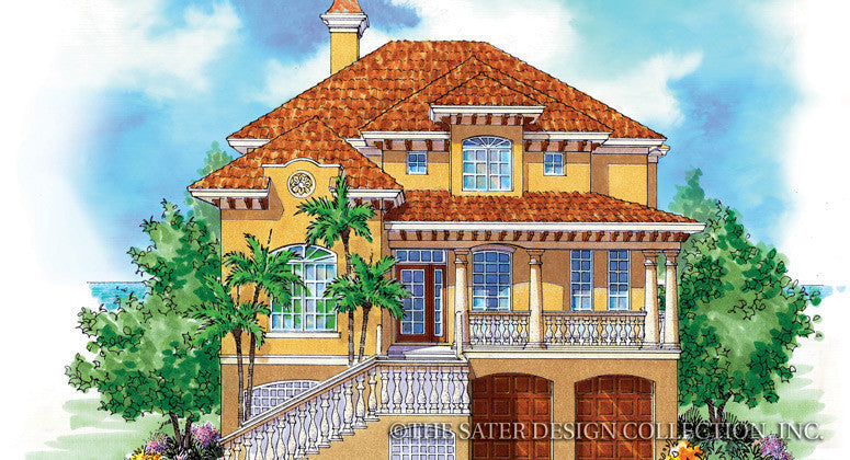 Riveria dei Fiori-Front Elevation Render Image-Plan #6809