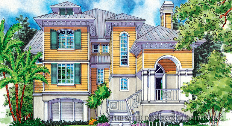 Papillon-Front Elevation-Plan #6813