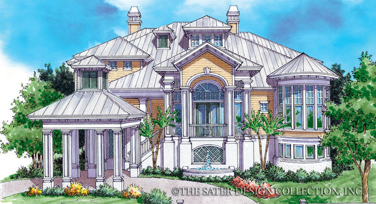 Saint Croix-Front Elevation-Plan #6822