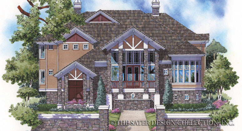 Sierra Canyon-Front Elevation-Plan #6823