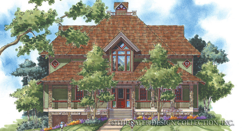 Wolf Summit-Front Elevation-Plan #6826