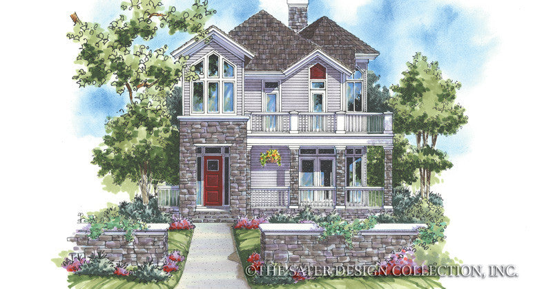New Waterford-Front Elevation-Plan #6829