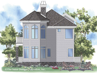 New Waterford-Rear Elevation-Plan #6829