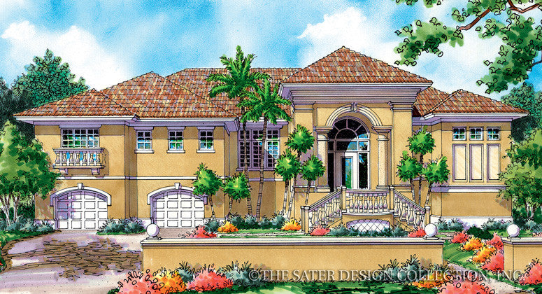 San Marino-Front Elevation-Plan #6833
