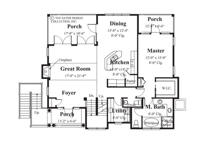 Small Cottage House Plans Sater Design Collection Home Plans