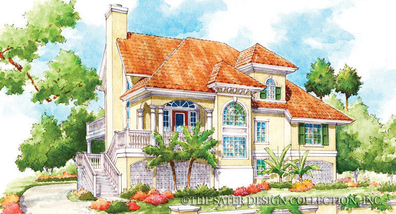 Small cottage house plans sater design collection home plans for Casa bella collection