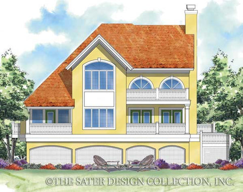 Home plan casa bella sater design collection for Casa bella homes