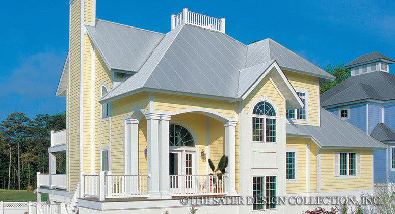 Aruba Bay-Front Elevation-Plan #6840