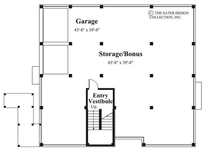 Aruba Bay-Lower Level Floor Plan-Plan #6840