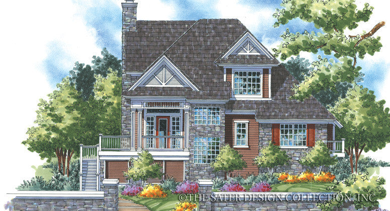 Wedgewood-Front Elevation-Plan #6841