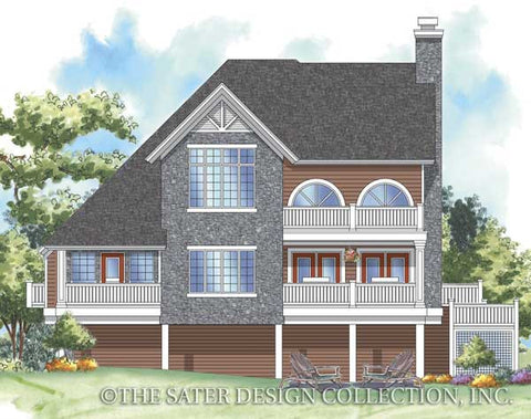 House plan wedgewood sater design collection for Wedgewood builders