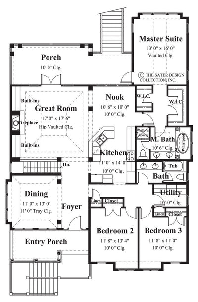 Via Pascoli-Main Level Floor Plan-#6842