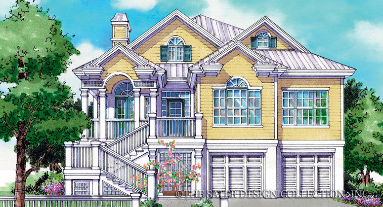 Newport Cove-Front Elevation-Plan #6843