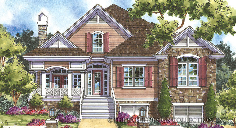 Whisperwood-Front Elevation-Plan #6844