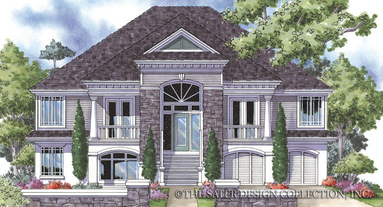 Trail Ridge-Front Elevation-Plan #6847