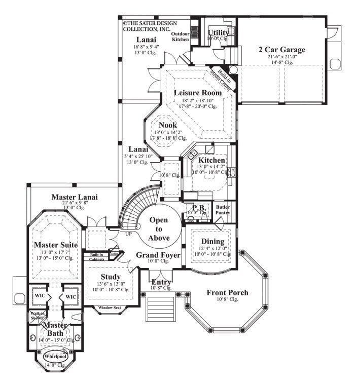 House plan sunset beach sater design collection for Victorian beach house plans