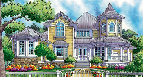 alexandre house plan - Victorian House Designs