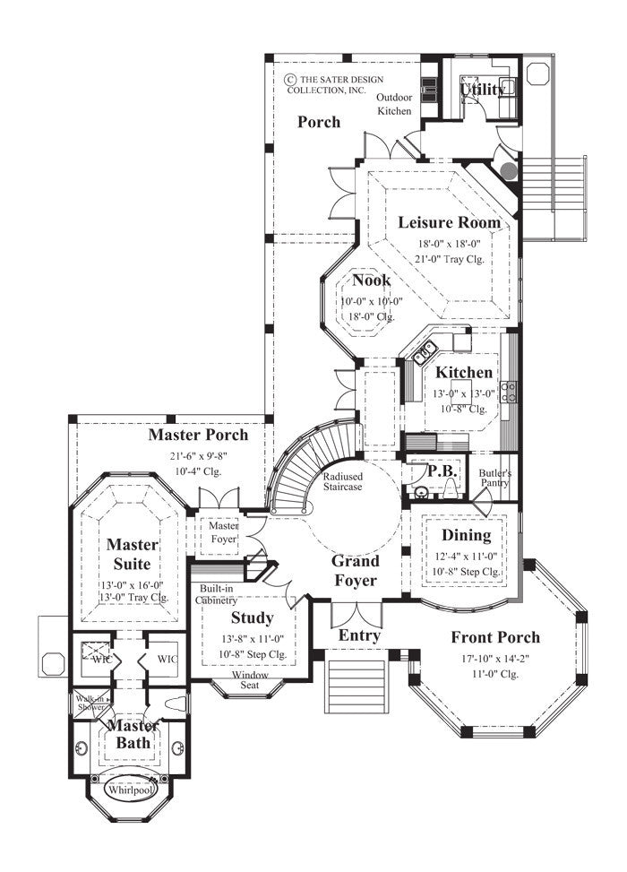 House Plans Square Feet French Country