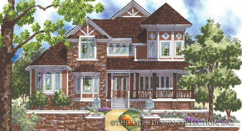 Weymouth Inn-Front Elevation-Plan #6850