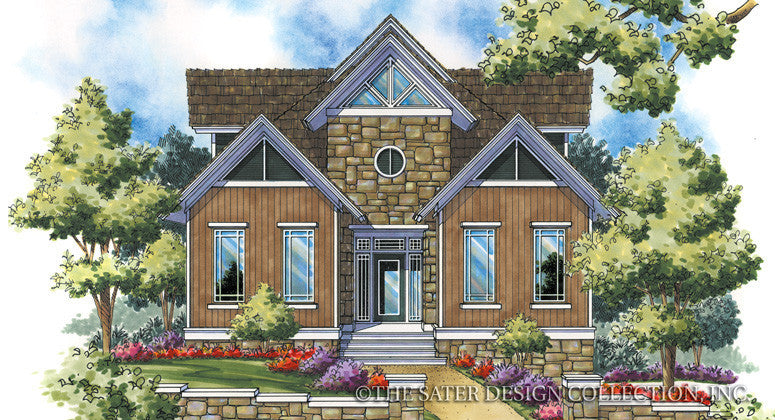 Mount Julian-Front Elevation-Plan #6853