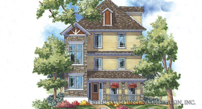 Hampshire Ridge-Front Elevation-Plan#6856