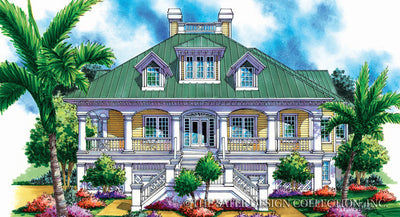 6858 Montserrat Home Front View - cottage home plan