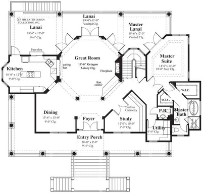 Monsterrat Home Main Level Floor Plan 6858