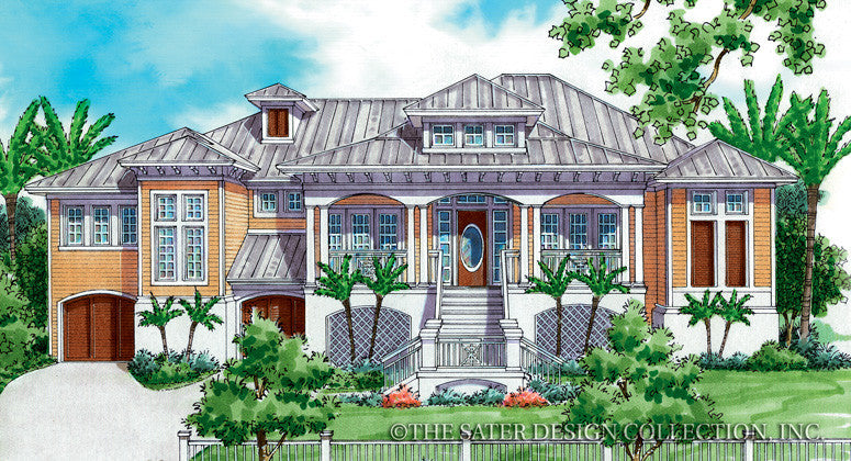 Mimosa-Front Elevation-Plan #6861