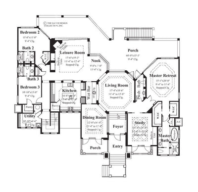 Mount Whitney Home-Main Level Floor Plan-Plan6862