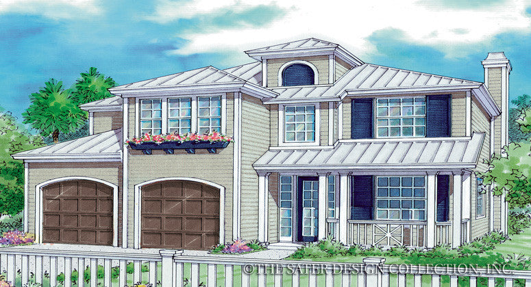 Palma Rios-Front Elevation-Plan #6863