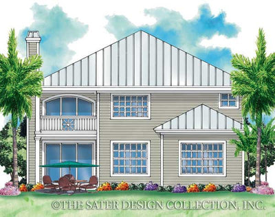 Palma Rios-Rear Elevation-Plan #6863