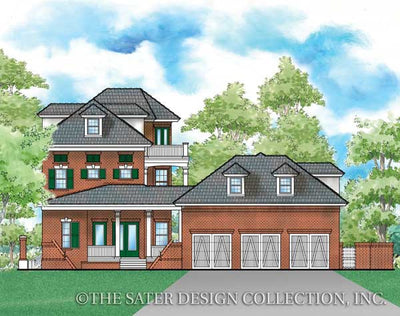 Reddington Home-Rear Elevation Render Image-Plan #6871