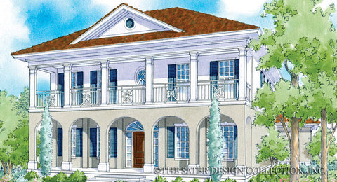 addison court house plan - Luxury Home Design