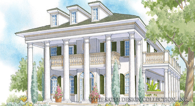 Ballantyne-Front Elevation-Plan #6876