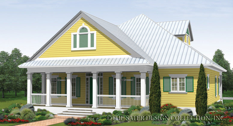 Pine Knoll Front Elevation Render Image Plan # 6877