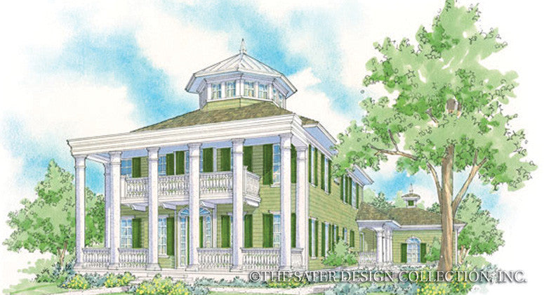 Emerald Bay-Front Elevation-Plan #6879